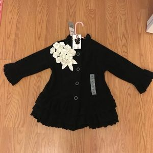 SWEATER DRESS 3T - NEW WITH TAGS